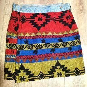 Vintage B.U.M. Equipment Skirt